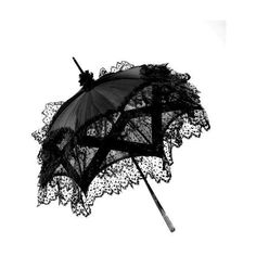 Beautiful Gothic ❤ liked on Polyvore featuring accessories, umbrellas and gothic