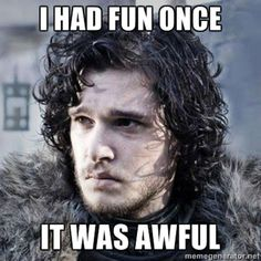 9864ea7220e9404e6b11386f12ed8ca2 game of thrones meme jon snow happy birthday game of thrones meme funny dirty birthday memes