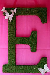 The Letter E! I created this for my daughters 1st birthday! You can do it too!