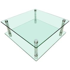 Mid-Century Glass and Lucite Coffee Table   From a unique collection of antique and modern coffee and cocktail tables at https://www.1stdibs.com/furniture/tables/coffee-tables-cocktail-tables/