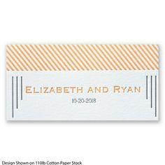 Make An Impression Letterpress Place Card #Letterpress #WeddingInvitations #DavidsBridal http://www.invitationsbydavidsbridal.com/Wedding-Invitations/Place-Cards/2947-DBN33030-Make-An-Impression-Letterpress--Place-Card.pro?&sSource=Pinterest&kw=Letterpress_DBN33030