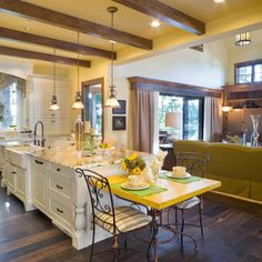 Wood Beams In Master Bedroom Design Ideas, Pictures, Remodel and Decor