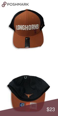 d62574bf1b463 NWT Texas Longhorns Nike Dri-Fit Flex-Fit Hat Texas Longhorns Nike Dri-