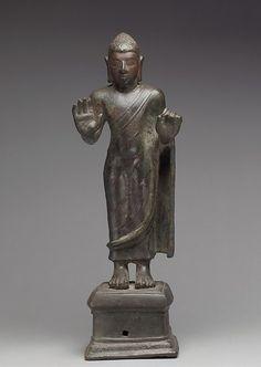 Date: 5th–6th century Culture: India (Andhra Pradesh or Tamil Nadu) Medium: Bronze Dimensions: H. 16 in. (40.6 cm) Classification: Sculpture
