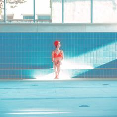 Maria Svarbova - Pool without water Image Photography, Fine Art Photography, Portrait Photography, Fashion Photography, Concept Photography, Swimming Photography, Grafik Design, Photoshoot Inspiration, Belle Photo