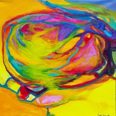 The Vortex draws you in...  #art #abstractart #abstractpainting #largepaintings #brightcolors #abstract #artbysarahhinnant #fineart #wallart #fineart #modernart #zenart #flow #canvaspainting #paintings #artwork