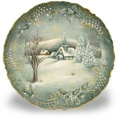 holy_night_scene_plate, love the detail work on the sides!