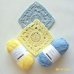 Bit of Color: A Square A Day 56. Nederlands haakpatroon