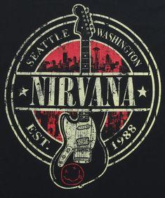 Nirvana Band Logo  3e0a4c4164530