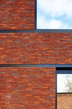 Brick ledger transition, simliar to Junction Flats only thicker. Need to understand how it would coordinate with thick white window frames