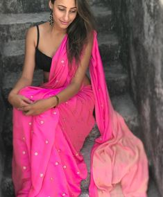 Find out about the best Designer Indian Sari such as Designer Saree also Blouse then Click VISIT above for more options indianfashion Ethnic Outfits, Indian Outfits, Crepe Silk Sarees, Modern Saree, Saree Dress, Sari Blouse, Indian Bridal Wear, Desi Clothes, Indian Sarees