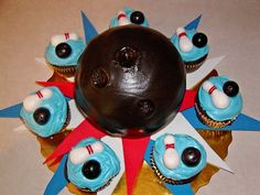 1000 Images About Cupcakes Sports Bowling On Pinterest
