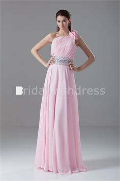 Ruched Holiday Floor-Length Chiffon Elastic Woven Satin Special Occasion Dresses