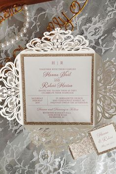 This gorgeous ivory laser cut wrap features a rose gold glittery belly band with a tag and a rose gold backer. It is perfect for any wedding and is breathtakingly beautiful. Affordable Wedding Invitations, Laser Cut Wedding Invitations, Elegant Wedding Invitations, Wedding Gifts For Bridesmaids, Wedding Designs, Wedding Ideas, Belly Bands, Unique Weddings, Wedding Photos