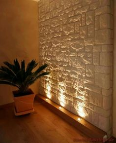 Luz pared indiscretas