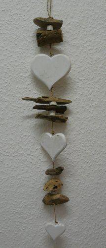 Dekorative Girlande mit Holz HERZEN und Treibholz 70 cm, http://www.amazon.de/dp/B00J71DR08/ref=cm_sw_r_pi_awdl_uxGdvb0K7F9J1                                                                                                                                                                                 Mehr