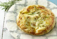 Tortino di patate al rosmarino e olio extra vergine di oliva