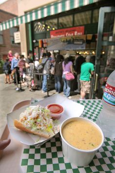 Pike Place Chowder won first place in a national competition for best clam chowder Seattle, WA Seattle Restaurants, Seattle Food, Seattle Times, Seattle Area, Seattle Washington, Washington Mountains, Washington State, Seattle Vacation, Seattle Travel