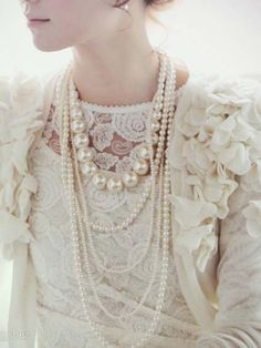 Aliexpress.com : Buy DIY Rococo style multi storey temperament pearl necklace Free Shipping from Reliable Lovely pearl necklace suppliers on City of Light