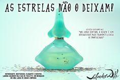 Trabalho consistia em fotografar em estúdio o produto e desenvolver a arte da peça. Perfume Laguna Salvador Dalí. Disciplina de Fotografia Digital - 4º semestre.