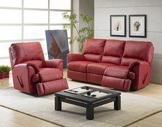 Elran 2088 Leather Reclining Sofa Furniture Living Room Sets