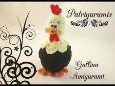 DIY Gallina amigurum - Crochet