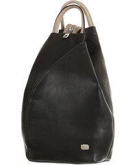 TopMode Asymetrický koženkový batoh (černá/šedá)