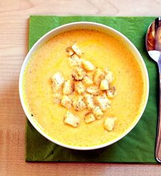 zupa-serowa Cheeseburger Chowder, Thai Red Curry, Cake Recipes, Dinner, Fruit, Cooking, Ethnic Recipes, Cheddar, Food Cakes