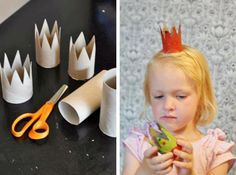 princesses can have their crowns... princes theirs... fun for a princess party! Kids can make their own!