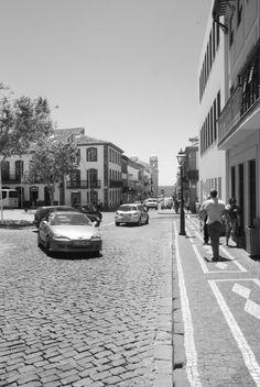 Rua da Se. Terceira, Azores