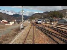 【前面展望】 智頭急行 上郡⇒智頭 各停…トンネルが多くまるで山陽新幹線のよう - YouTube