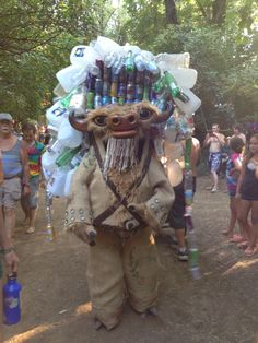Recycle creature from the 2014 Oregon Country Fair