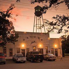 Dance at Gruene Hall....the oldest dancehall in Texas.