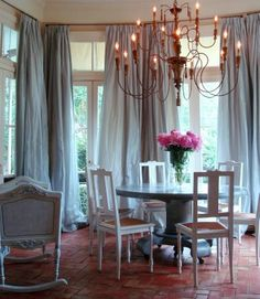 13 Best Curtains in Dining Rooms images | Interior, Home ...