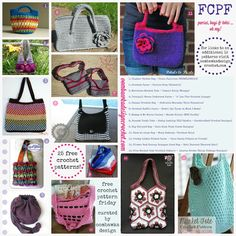 Purses, Bags and Totes   Oh My!