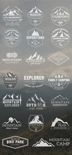 20 Adventure Badges & Logos