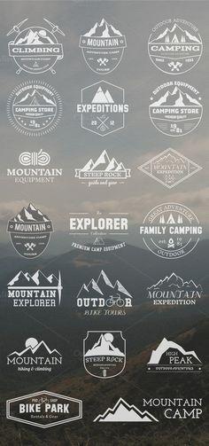 20 Adventure Badges & Logos