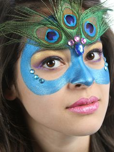 Peacock Mask. Cara Zara