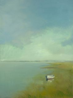 by Anne Packard. Stunning  This is the perfect painting for a place that's usually in chaos.  Ahhh.