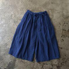 ikkuna/suzuki takayuki / gathered pants
