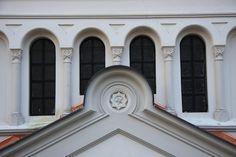 Golčův Jeníkov synagogue detail