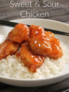 You'll never have to order takeout again. This Sweet & Sour Chicken is melt-in-your-mouth tender and so delicious! And because it's quick-seared in the skillet and then baked, the batter is crisp and not soggy.