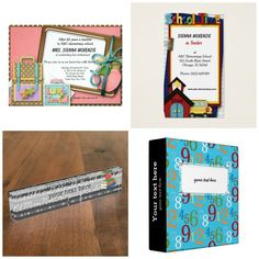 #backtoschool theme. Available in different products#invitation #businesscard #nameplate #binder and lots of more at store. Check more at www.zazzle.com/celebrationideas orwww.zazzle.com/graphicdesign