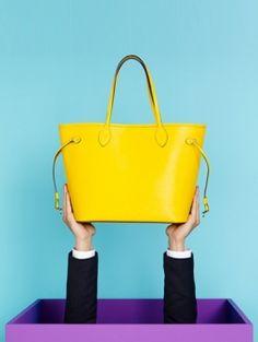 Louis Vuitton Neverfull van Epi-leer