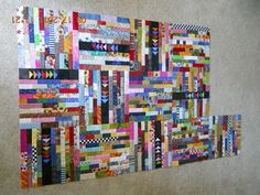 quick post.....4 more for the pile......           I trimmed all the blocks too.   The rules I follow, sort of ....   If the fabrics are...