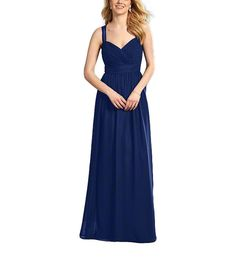DescriptionAlfred Angelo Style 7364LFulllength bridesmaid dressSweetheart neckline with keyhole back detailButton detail along backSheer strapsChiffonLongThis Alfred Angelo style is a gorgeous full length bridesmaid dress with sheer straps. It features a sweetheart neckline with a keyhole back detail. The dress has button detailing along the back.