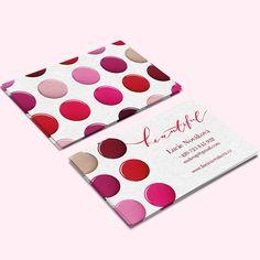 Vizity od Printíka | www.printik.cz  #printik #printikcz #vizitka #vizitky #beautiful #makeup #paper #colours #paperideas