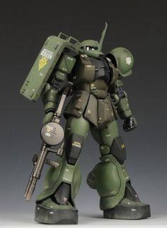 [Modelers-G] MG MS-05 Zaku I