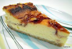 Manhatten style amerikansk cheesecake Cheesecakes, Food, Style, Swag, Essen, Cheesecake, Meals, Yemek, Cherry Cheesecake Shooters