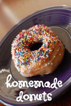 Tasty homemade donut treats.  Super easy.